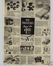1966 PAPER AD The Beatles Doll Dolls John Lennon Paul McCartney Ringo Starr