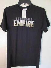 Mens NEW HBO Boardwalk Empire Black Short Sleeve Graphic Tee T-Shirt Size S