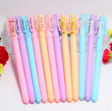 5Pcs High Quality Candy Color 0.38mm Needle Gel Pens Gift Pens