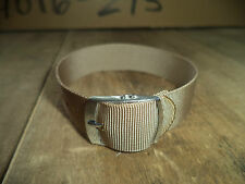 Original vintage Nylon Army Brown Vintage rare NOS wrist watch strap band 17 mm
