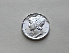 1944 P Silver Mercury Dimes -Uncirculated - High Grade