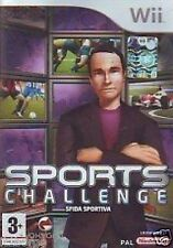 sports challenge  NINTENDO WII NEW UFFI. ITALIANO