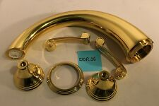 Phylrich D1206ETO-003 3Ring Roman Tub Two Handle Faucet Polished Brass NEW