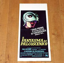 IL FANTASMA DEL PALCOSCENICO locandina poster Paul Williams Brian De Palma F14