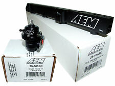 AEM High Volume Fuel Rail + Adj Pressure Regulator for Honda H22A1 H22A4 H23A1