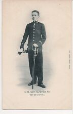 Vintage Postcard King Alfonso XIII of Spain