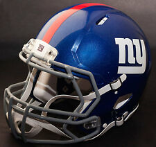 ***CUSTOM*** NEW YORK GIANTS NFL Riddell Full Size SPEED Football Helmet
