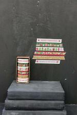 6 roll set of Christmas washi tape, deco tape 11 yards per roll