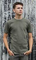 Mens Green T Shirts - Grade 1 German Army Surplus