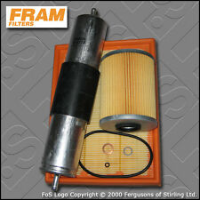 SERVICE KIT BMW 3 SERIES 320I E36 FRAM OIL AIR FUEL FILTERS (1994-1995)