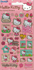 Paper Projects Small Foil Re-usable Hello Kitty Pink Fun Sticker