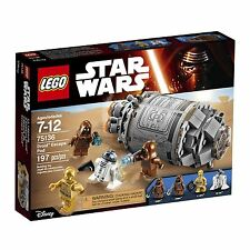 75136 DROID ESCAPE POD lego set NEW star wars legos JAWA C-3PO R2-D2