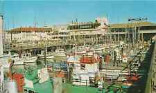 "San Francisco Postcard - ""Fisherman's Wharf"" | Mirro-Krome/HS Crocker"