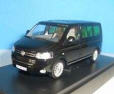 VW T5 MULTIVAN VAN - Black 2010 - 2015 DEALER EDITION _ MINICHAMPS 1:43 NEU OVP