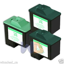 3 PACK #16 #26 Lexmark Ink Cartridge for All-in-One X1150 X1270 X2250 X75