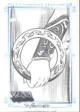 XENA ART AND IMAGES SKETCH CARD PANSICA 3