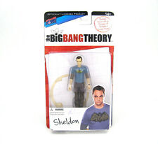 "Big Bang Theory Sheldon 3 3/4"" 3.75"" Action Figure Batman T-Shirt"