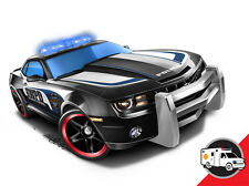 Hot Wheels Cars - '10 Camaro SS (HWPD Police) Black