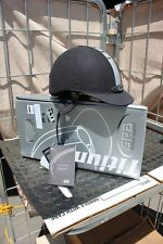 ~ 33-11  GPA  6 3/4 Titium Pro safety helmet New in Box  charcoal/silver was 489