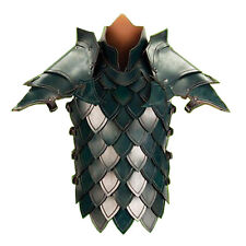 Elven Scale Leather Armor, Armour, Medieval, Fantasy, Cosplay, LARP, Elf