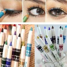 12 Colors Woman Glitter Lip liner Eye Shadow Eyeliner Pen Makeup Cosmetic Kit
