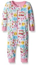 Animals Flowers n Sunshine 6-9 mos One Piece Girls Romper Sleeper  New With Tags