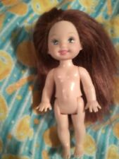 Barbie Baby Kelly Club LIANA Red hair Blue Eyes Tommy Frend lot no Clothes Shoes