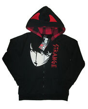 Emily The Strange Angst Face Devil Horn Hoodie Licensed XL NWT $80