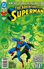 THE ADVENTURES OF SUPERMAN,BACK FROM THE DEAD,MAN STEEL FIGHT,500 11 JUNE 1993