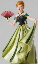 Disney Couture de Force ANNA from Frozen in Green Dress Stone Resin Figurine
