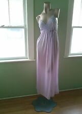 VTG 1970s Nightgown Robe Set 70s Gilead Peignoir Disco Goddess Nightie Sz S