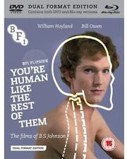 You're Human Like the Rest of Them: The Films of  (2013, REGION ALL Blu-ray New)