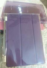 Mini Ipad cover+clear pc back cover for Apple Ipad mini colour purple