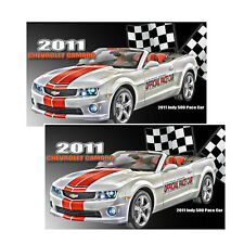 2011 Chevrolet Camaro Indy 500 Pace Car Decals Pack Of Two