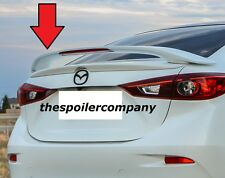 PRE-PAINTED 2-POST CUSTOM REAR LIGHTED SPOILER FOR 2014-2017 MAZDA 3 SEDAN