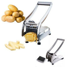HOT Stainless Steel Fry Fries Potato Chips Cutting Machine Slicer Kitchen Tool