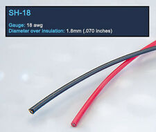 DH Labs SH-18 Silver-Coated Continuous Crystal™ Copper Hook Up Wire by the ft.
