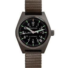 US Issue General Purpose Field Watch Date Marathon Swiss Made + Warranty Sage