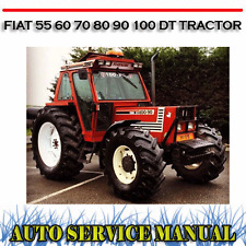 FIAT 55 60 70 80 90 100 DT TRACTOR WORKSHOP SERVICE REPAIR MANUAL ~ DVD