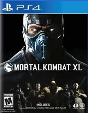 BRAND NEW MORTAL KOMBAT XL PS4 PLAYSTATION 4 GAME + BONUS DLC