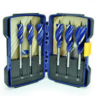 IRWIN Blue Groove 6 Piece Set Of Wood Speedbor Spade Auger Drill Bits, 10506628