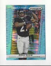 2013 Panini Prizm Prizms Light Blue Pulsar #4 Ray Rice Ravens
