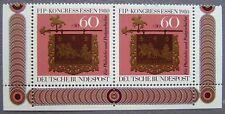 Briefmarken BRD (60+30x2 Pf.) Kongress für Philatelie in Essen 1980