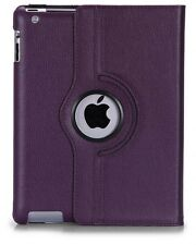 FUNDA GIRATORIA 360º TABLET APPLE IPAD 2 3 4 - MORADO
