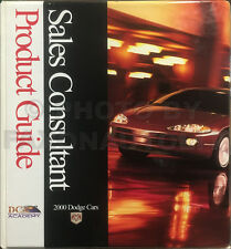 2000 Dodge Car Sales Guide Dealer Album Viper Neon Avenger Intrepid Stratus