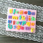 PC DIY Silicone Letter Cake Mould Mat Fondant Sugar Craft Mold Decorating Tool