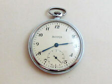 MOLNIA Molnija USSR vintage men's mechanical POCKET watch