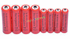 4 AA 3000mAh + 4 AAA 1800mAh 1.2V NI-MH Rechargeable Battery 2A 3A Red Cell