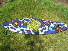 KALAJIAN SURFBOARDS CUSTOM PAINTED BODY OR WAVE BOARD #9615
