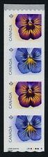 Canada 2810-1i starter coil strip MNH Flowers, Pansies
